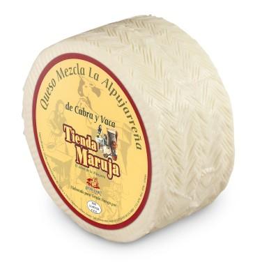Mélange de fromage de chèvre tendre
